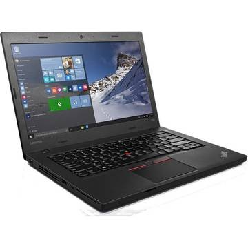 Laptop Renew Lenovo ThinkPad L460 Intel Core i3-6100U 2.3 GHz 4GB Ram 500 GB HDD 7200 RPM 14 inch Cititor de amprente Bluetooth Webcam Windows 10 Pro