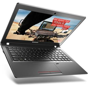 Laptop Renew Lenovo E31-70 Intel Core i5-5200U 2.2 GHz 4GB DDR3 500GB HDD SSHD 13.3 inch HD Cititor de amprente Webcam Windows 7 Pro / Windows 8 Pro