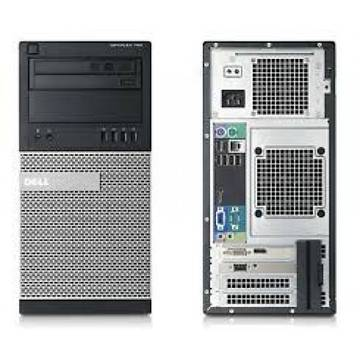 Calculator refurbished Dell OptiPlex 790 i5-2400 Generatia 2 3.1GHz 8GB DDR3 250GB HDD Sata RW Tower Soft Preinstalat Windows 10 Professional
