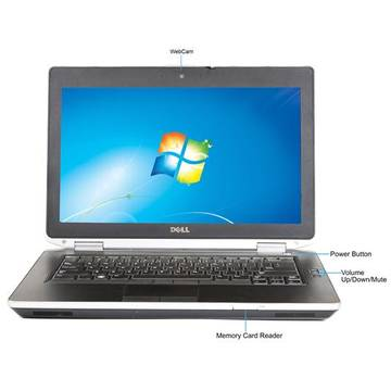 Laptop second hand Dell Latitude E6430 i7-3520M 2.9GHz 4GB DDR3 128GB SSD DVD-RW 14.0inch