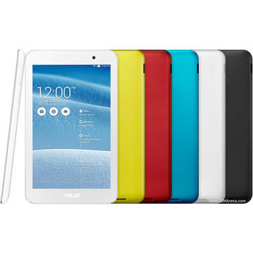 Tableta Second Hand Asus MeMO Pad 7 (ME176CX) IPS 7 inch Intel Atom Z3745 1.86 GHz 1GB RAM  16GB Flash Wi-Fi + BT  Android 4.4 White