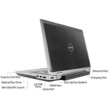 Laptop second hand Dell Latitude E6430 i7-3520M 2.9GHz 4GB DDR3 320GB DVD-RW 14.0inch