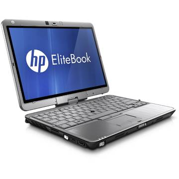 Laptop second hand HP EliteBook 2760p i5-2540M 2.6GHz 4GB DDR3 160GB SSD Sata Webcam 12.5inch Touchscreen