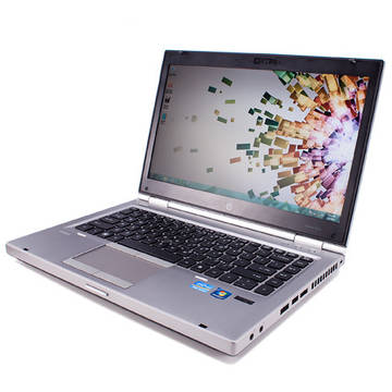 Laptop refurbished HP EliteBook 8460P i5-2520M 2.5GHz 4GB DDR3 128GB SSD DVD-RW 14.1 inch Webcam Soft Preinstalat Windows 10 Home