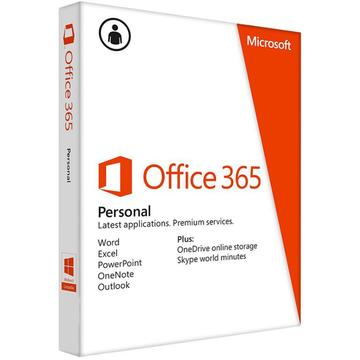 Microsoft Office 365 Cloud Personal English Subscriptie 1 an P2