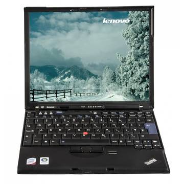 Laptop second hand Lenovo ThinkPad X61 Core 2 Duo T7300 2.0GHz 2GB DDR2 60GB HDD Sata 12.1inch