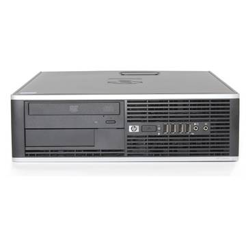 Calculator second hand HP Elite 8000 Core 2 Duo E7500 2.93GHz 4GB DDR3 160GB Sata DVD Desktop