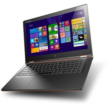 Laptop Renew Lenovo Yoga 2 Intel Core i3 4030U 1.9 GHz 4GB DDR3 500GB HDD SSH Full HD Multitouch 13.3 Windows 8.1
