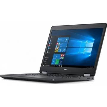 Laptop second hand Dell Latitude 5470 Intel Core i5-6300U 2.4GHz up to 3.0GHz 8GB DDR4 256GB SSD 14inch FHD Webcam