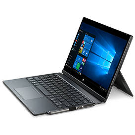 Laptop Renew Dell Latitude 12 7000 (7275) Series 2 in 1 Laptop M5-6y57 1.1GHz up to 2.8GHz 8GB DDR3 128GB SSD NO KEYBOARD 12.5inch MultiTouch FHD 1920x1080 Webcam Windows 10 Home