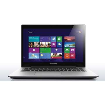 Laptop Renew Lenovo U430p Intel Core i5-4258U 2.4 GHz 4GB DDR3 500GB+8GBSSHD 14 inch HD Webcam Bluetooth Windows 8.1