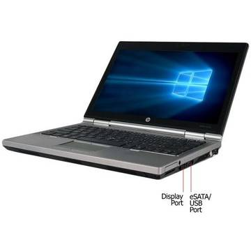 Laptop second hand HP EliteBook 2570p i5-3340M 2.7GHz 4GB DDR3 128GB SSD DVD-RW 12.5inch Webcam