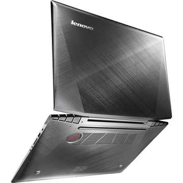 Laptop second hand Lenovo Y70-70 TOUCH i7-4720HQ 2.60GHz up to 3.60GHz 16GB DDR3 1TB+8GB SSHD nVidia GeFORCE GTX 960M 4GB 17.3inch 1920x1080 multitouch