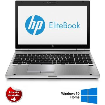 Laptop refurbished HP EliteBook 8570p i7-3520M 2900Mhz 4096GB DDR3 320GB HDD DVD-RW AMD Radeon HD 7570M 1GB 15.6 inch 1600x900 Soft Preinstalat Windows 10 Home