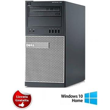 Calculator refurbished Dell OptiPlex 790 i7-2600 3.4GHz 4GB DDR3 250GB HDD Sata RW Tower Windows 10 Home