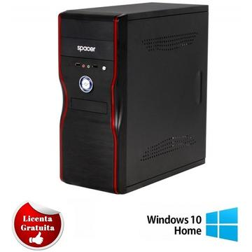 Calculator refurbished Dual Core E5300 2.66GHz 2GB Ram 500 GB HDD Sata RW Tower Soft Preinstalat Windows 10 Home