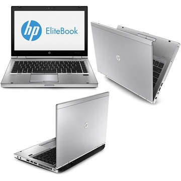Laptop second hand HP EliteBook 8470p i5-3360M 2.80GHz up to 3.50GHz 4GB DDR3 HDD 500GB SATA DVD-ROM 14.0inch Webcam