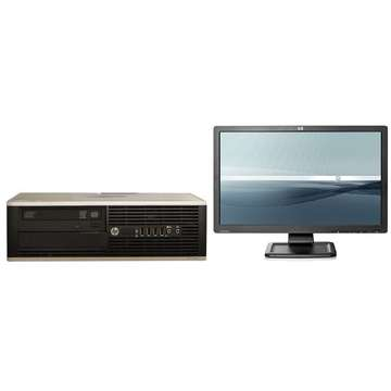 HP Elite 8200 i5-2400 3.1GHz 4GB DDR 3 250GB HDD Sata DVD-RW Desktop+Hp LE2201w