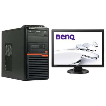 Acer Gateway DT55 AMD Athlon IIx2 260 3.2GHz 4GB DDR3 320GB ( 2x160) HDD Sata DVDRW Tower+BenQ G2251-T 22 Inch