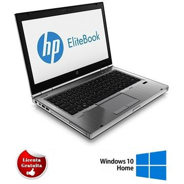 Laptop refurbished HP 8470p i7-3520M 2.90GHz 4GB DDR3 128GB SSD DVD-ROM 14.0inch 1366x768 Webcam Soft Preinstalat Windows 10 Home