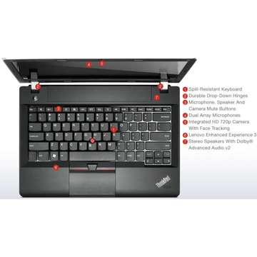 Laptop second hand Lenovo Edge E330 i5-3210M 2.5Ghz up to 3.1 Ghz 8GB DDR3 320GB HDD 13.3 inch Webcam