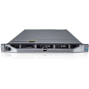 Server second hand Dell Poweredge R610 1U 2 x X5650 2660Mhz 48GB NO HDD 2 x surse