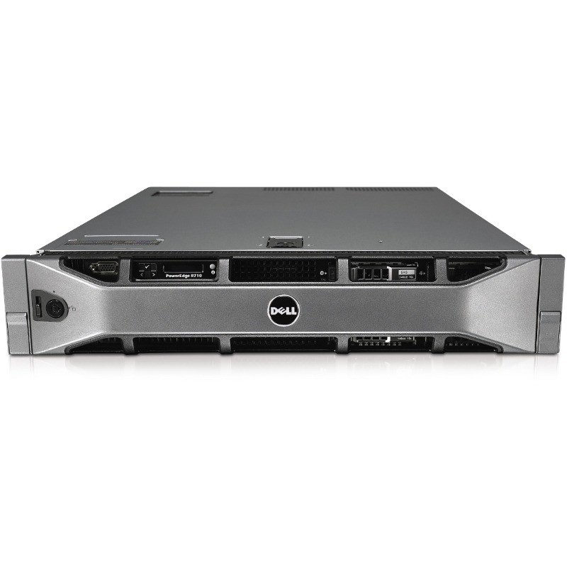 Server second hand Poweredge R710 2U 2x E5645 2400Mhz 24GB 2x PSU NO HDD