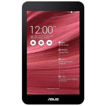 Tableta Second Hand Asus MeMO Pad 7 (ME176CX) IPS 7 inch Intel Atom Z3745 1.86 GHz 1GB RAM  16GB Flash Wi-Fi + BT  Android 4.4 Red