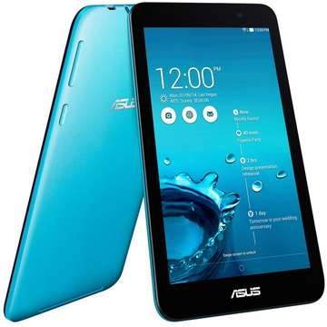 Tableta Second Hand Asus MeMO Pad 7 (ME176CX) IPS 7 inch Intel Atom Z3745 1.86 GHz 1GB RAM  16GB Flash Wi-Fi + BT  Android 4.4 Blue