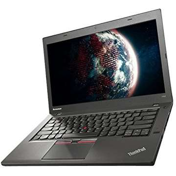 Laptop second hand Lenovo T450 Intel Core i5-5300U 2.3GHz 4GB DDR3 500GB HDD 14inch HD Windows 7 PRO 3G Tastatura Iluminata Doua baterii