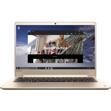 Laptop nou Lenovo IdeaPad 710S Plus-13IKB Intel Core Kaby Lake i7-7500U 512GB 8GB nVidia Geforce 940MX 2GB Win10 FullHD Auriu