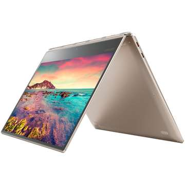 Laptop nou Lenovo Yoga 910-13IKB Intel Core Kaby Lake i5-7200U 512GB 8GB Win10 FHD IPS Touch Gold