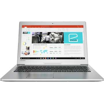 Laptop nou Lenovo IdeaPad 510-15IKB Intel Core Kaby Lake i7-7500U 1TB 8GB nVidia Geforce 940MX 4GB FullHD