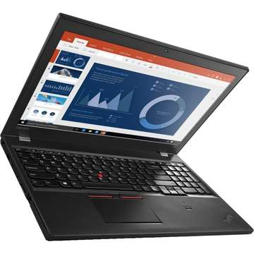 Laptop nou Lenovo ThinkPad T560 Intel Core Skylake i7-6600U 512GB 16GB Win10 Pro FingerPrint FullHD Touch 4G