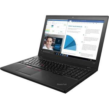 Laptop nou Lenovo ThinkPad T560 Intel Core Skylake i7-6600U 256GB 8GB nVidia Geforce 940MX 2GB Win10Pro WQHD Fingerprint