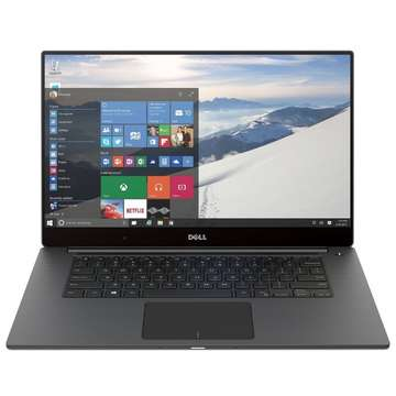 Laptop nou Dell XPS 9550 15.6'' UHD InfinityEdge Touch Core i5-6300HQ 2.3GHz 8GB DDR4 256GB SSD GeForce GTX 960M 2GB Win 10 Home Argintiu
