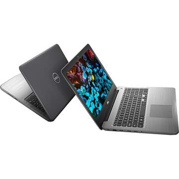 Laptop nou Dell Inspiron 5567 Intel Core Kaby Lake i5-7200U 1TB 8GB AMD Radeon R7 M445 4GB Win10 FullHD