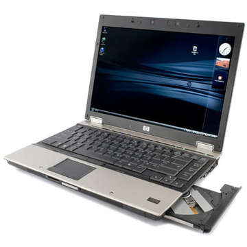 Laptop second hand HP EliteBook 6930P Core 2 Duo T9600 2.8GHz 2GB DDR2 160GB 14.1 inch AMD Radeon 3470 128MB 1280x800 DVD-RW