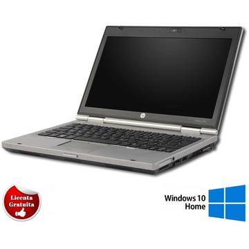 Laptop second hand HP EliteBook 2560p i5-2540M 2.6GHz up to 3.3GHz 4GB DDR3 320GB HDD Sata Webcam 12.5inch Soft Preinstalat Windows 10 Home