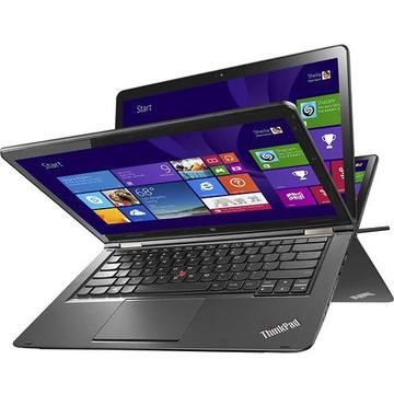 "Laptop second hand Lenovo Yoga 14 i7-5500U 2.40GHz up to 3.00GHz 8GB DDR3 128GB SSD 14"" FHD IPS (1920 x 1080) Touch Screen Tastatura iluminata Webcam"
