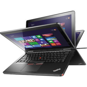 Laptop second hand Lenovo Yoga 12 i7-6500U 2.50GHz up to 3.10GHz 8GB DDR3 256GB SSD 12.5inch FHD IPS (1920 x 1080) Touch Screen Tastatura iluminata Webcam