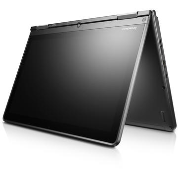Laptop second hand Lenovo Yoga 12 i7-5500U 2.40GHz up to 3.00GHz 8GB DDR3 256GB SSD 12.5inch FHD IPS (1920 x 1080) Touch Screen Tastatura iluminata Webcam