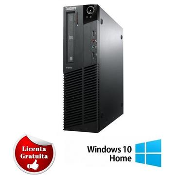Calculator refurbished Lenovo ThinkCentre M91p Core i5-2400S 2.5GHz 4Gb DDR3 320GB HDD SATA  DVD USFF Soft Preinstalat Windows 10 Home