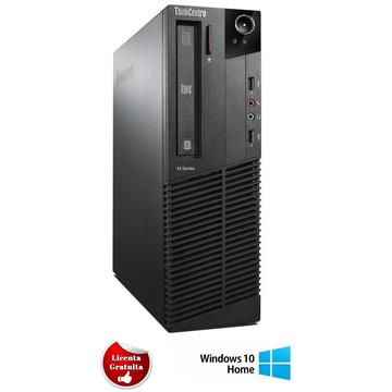 Calculator refurbished Lenovo ThinkCentre M92p Core i7-3770 3.2GHz 8GB DDR3 500GB HDD SATA DVD-RW Desktop Soft Preinstalat Windows 10 Home