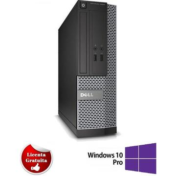 Calculator refurbished Dell Optiplex 7010 Intel Core i7-3770 3.40GHz 4GB DDR3 500GB HDD SATA DVD-RW Desktop Soft Preinstalat Windows 10 Professional