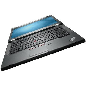 Laptop second hand Lenovo ThinkPad T430 i5-3320M 2.6GHz up to 3.30GHz 4GB DDR3 128GB SSD DVDRW Webcam 14 inch 1600x900 HD+
