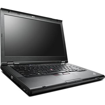 Laptop refurbished Lenovo ThinkPad T430 i5-3320M 2.6GHz up to 3.30GHz 4GB DDR3 128GB SSD DVDRW Webcam 14 inch 1600x900 HD+ Soft Preinstalat Windows 10 Home
