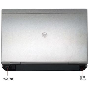 Laptop second hand HP EliteBook 2570p i5-3230M 2.6GHz up to 3.3GHz 4GB DDR3 128GB SSD DVD-RW 12.5inch Webcam
