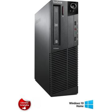 Calculator refurbished Lenovo ThinkCentre M92p Core i5-3470 3.2GHz 4GB DDR3 HDD 500GB Sata DVD-RW Desktop Soft Preinstalat Windows 10 Home