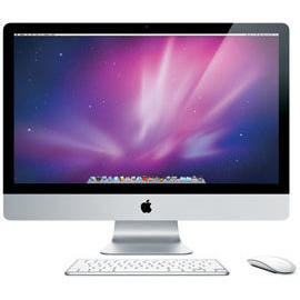 Apple iMac Intel Core i5 2500S 2.7GHz 1TB HDD 8GB DDR3 27 inch 2560 x 1440 DVD-RW